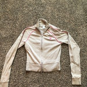 One Step Up Cropped Track Jacket!